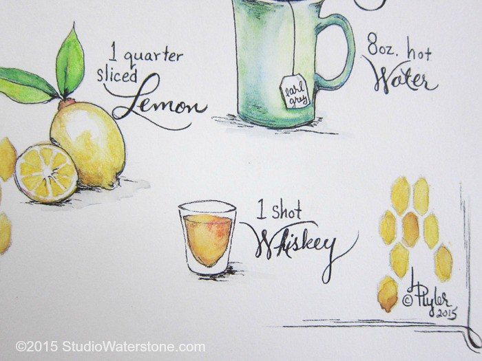 My Sketchbook: Hot Toddy Recipe