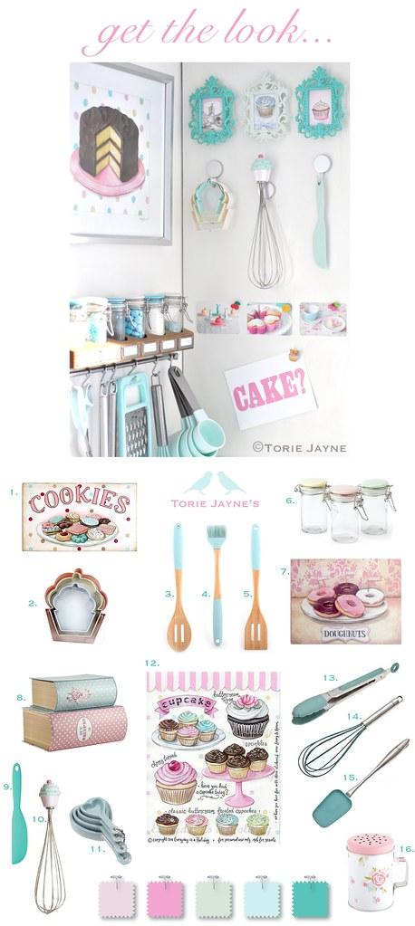 Get the look - baking corner