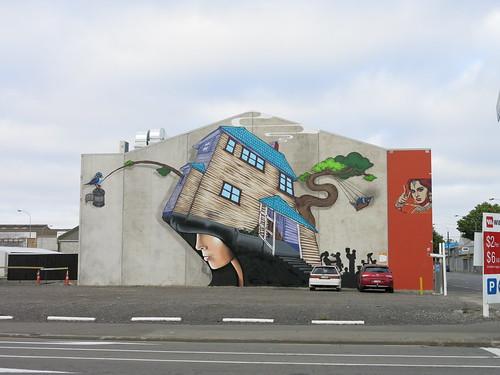 Wongis art on St Asaph Street