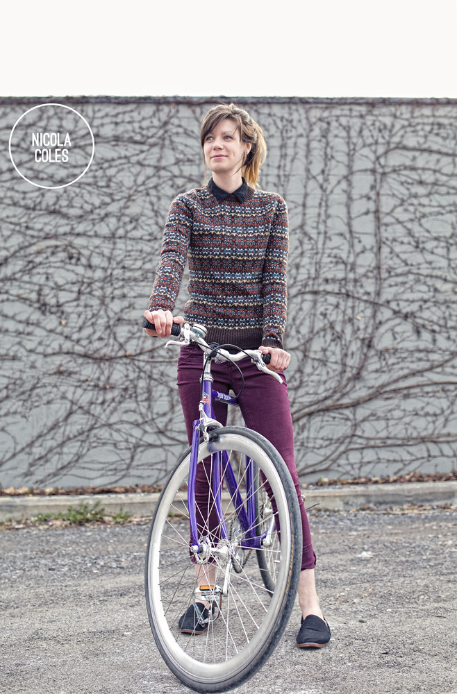 Nicola Coles and her Bicycle 21