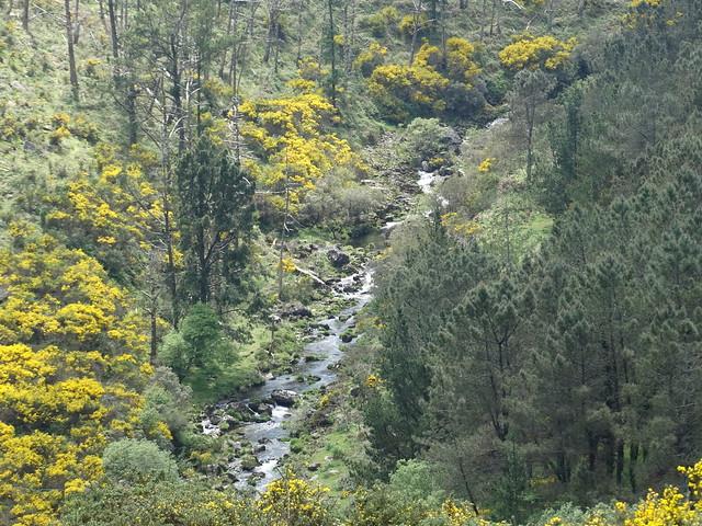 Río Barbanza en la sierra del Barbanza