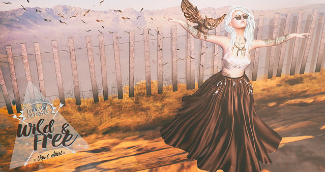:Moon Amore: Wild & Free (Top, Skirt , Necklace)