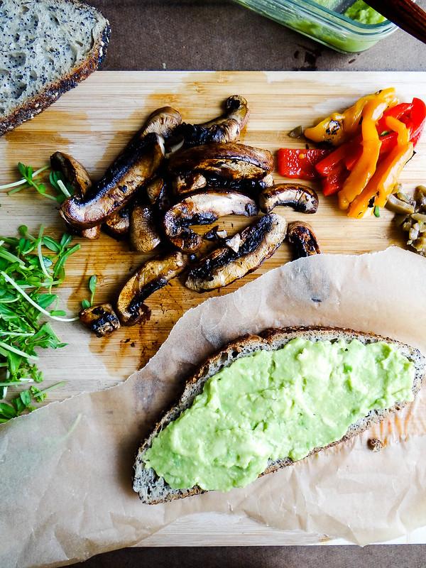 green monster // a sandwich