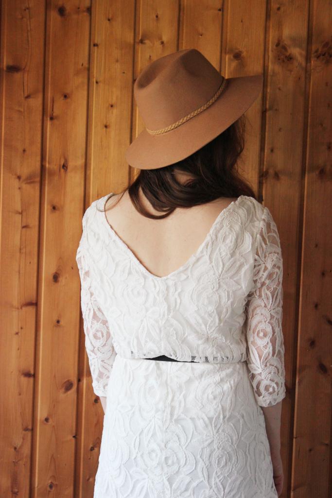 hut stradivarius - hut beige - hut outfit blogger zara trend
