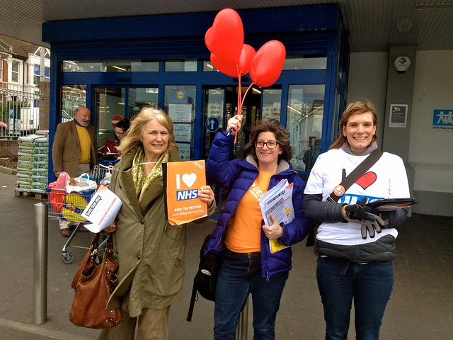 Brighton Kemptown speaks out for the NHS