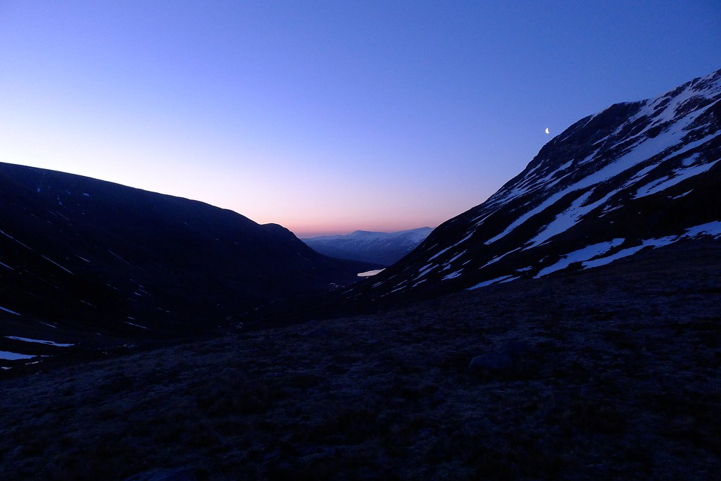 Dawn over Strath Mhuilich