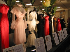 Hollywood Fashions from the Gene London Exhibit at the Philadelpia Flower Show