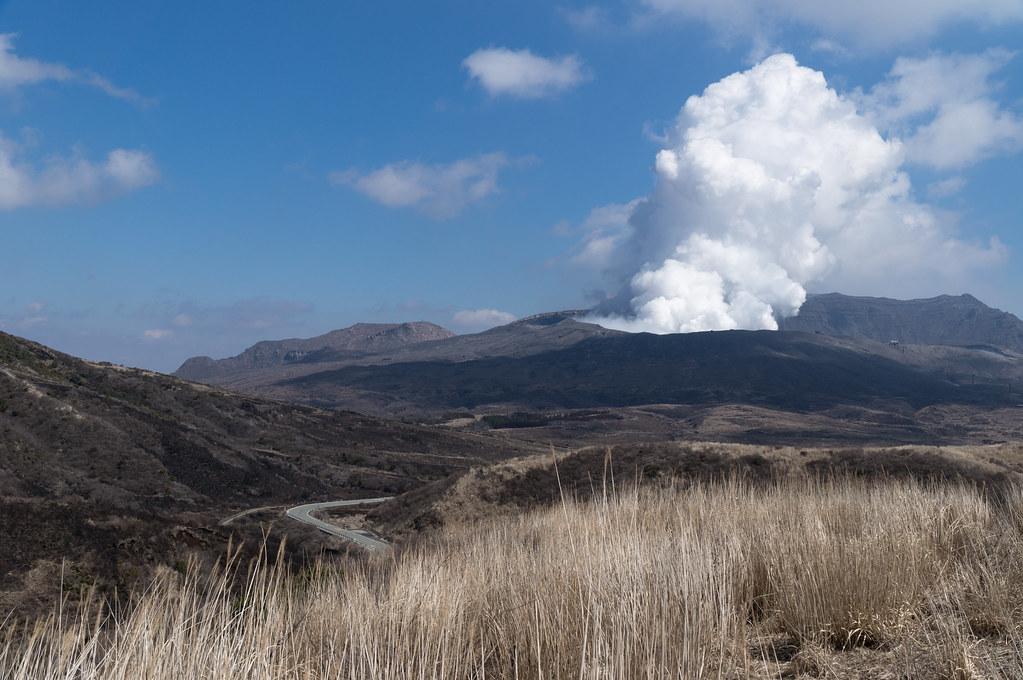 阿蘇山 中岳