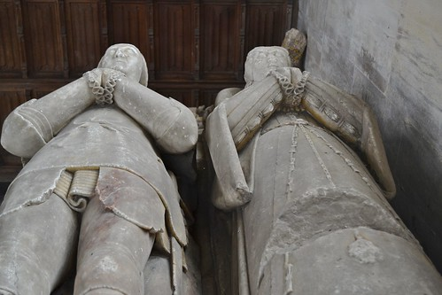 Alabaster Tomb of Thomas Denton and wife (1558).