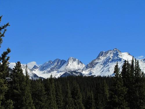 winter snow mountains rural forest colorado sanjuanmountains milliondollarhighway weminuchewilderness needlemountains