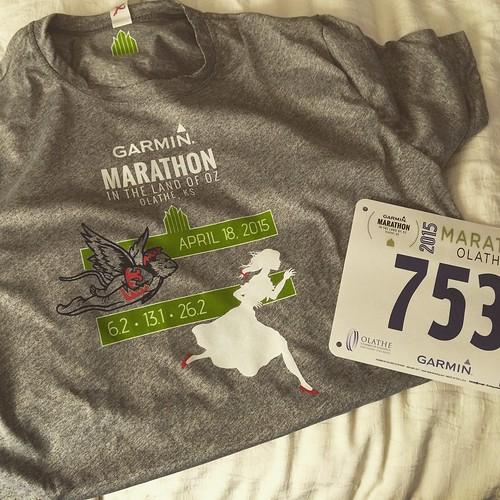 Garmin in the Land of Oz Marathon