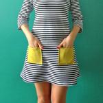 Breton Striped Coco Dress
