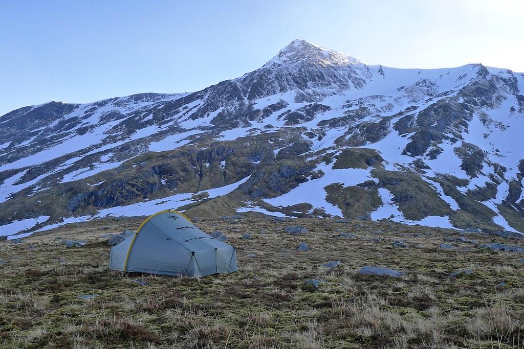 Camp below Bidean an Eoin Dearg