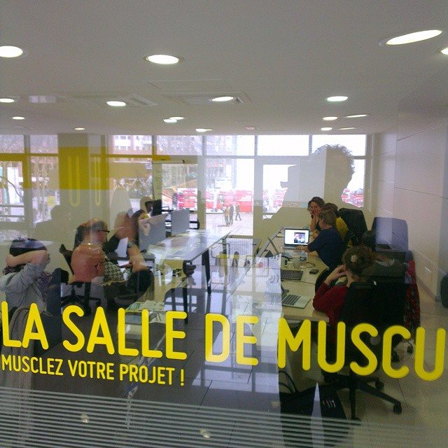 Réunion #museomix orga en cours @tuba_lyon Inclusion et constitution d'une agora avec les communautés