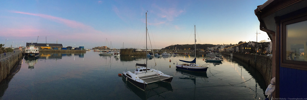 iPhone Panorama St Peter Port Harbour