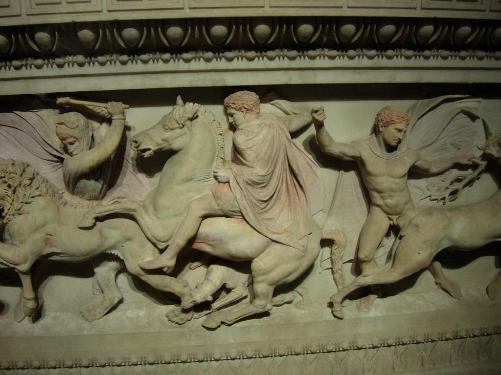 Sarcofago de Alejandro Magno