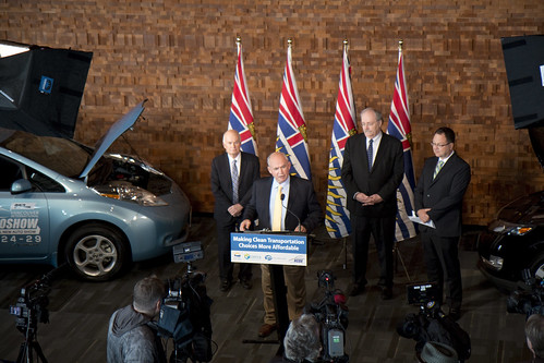 BC Government Announces Renewal of Clean Vehicle Rebate Program