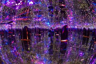 At the Ripley's Marvelous Mirror Maze in Gatlinburg