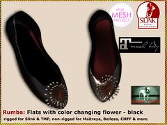 Bliensen - Rumba - Flats - black