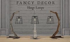 Hinge Lamps