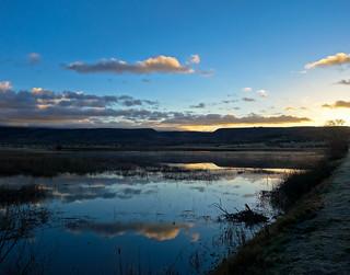 Fruitgrowers' Reservoir at sunrise