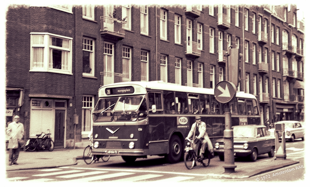 Amsterdam: Saturday morning early 1970s