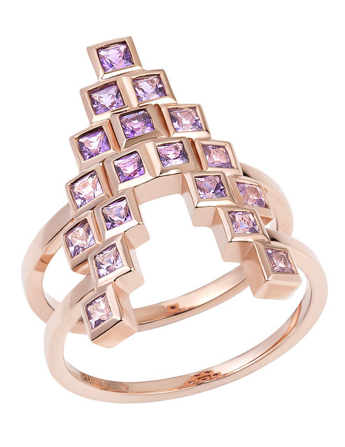 Spectrum Amethyst Rings Together 2