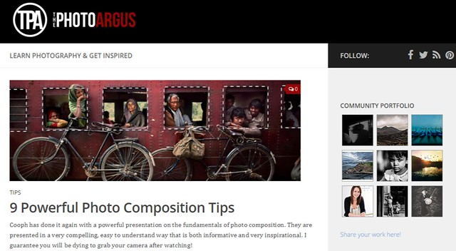 The Photo Argus - Photography Tips and Inspiration