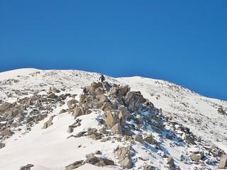Jane on the East Ridge of Mt Massive