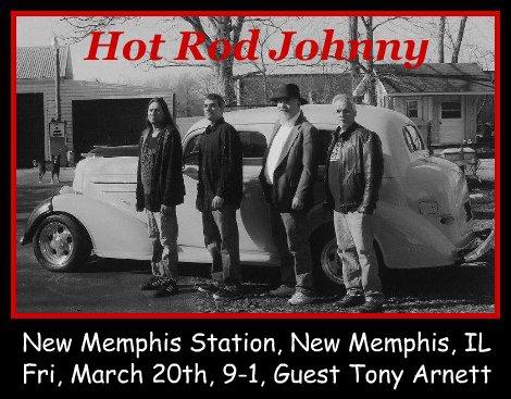 Hot Rod Johnny 3-20-15