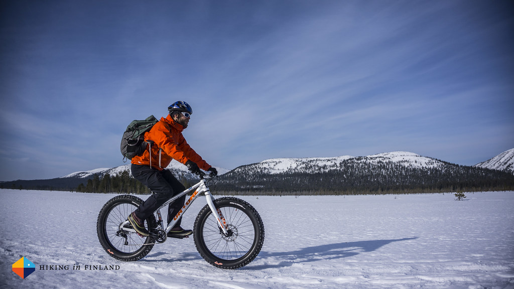 Fast winter rides across the open mires.