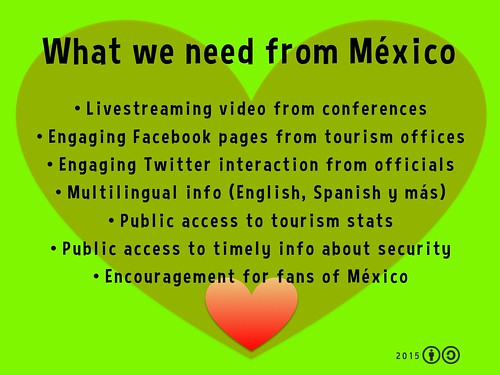 What we need from México #mexiconow