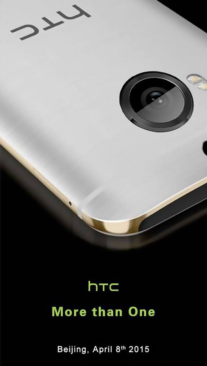 HTC One M9+ va fi lansat in Beijing pe data de 8 Aprilie