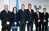 Mr Fernando Borjón Figueroa, Commissioner at Instituto Federal de Telecomunicaciones de Mexico and his delegation meet with Malcolm Johnson at ITU - 25 March 2015