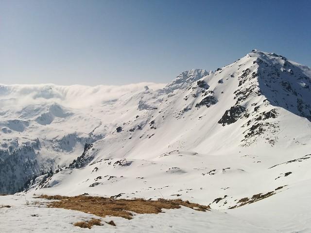 Ausblick Öfenspitze auf das Nebelmeer