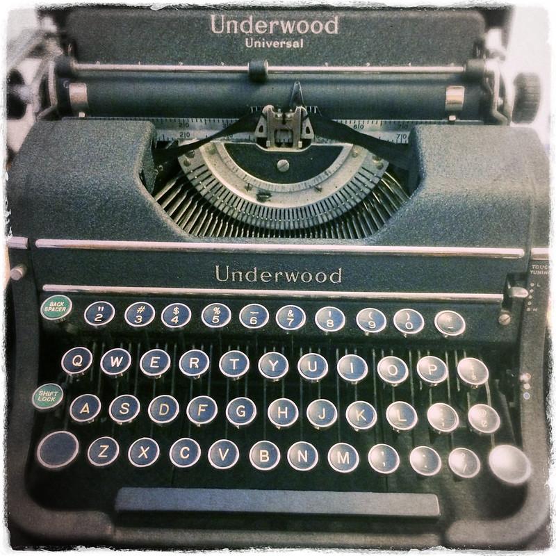 My new typewriter