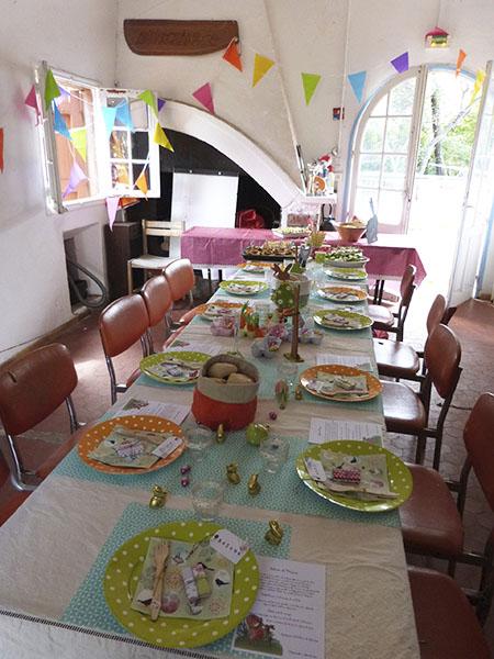 table prête