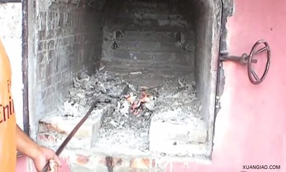 Video: Qúa trình hỏa táng và thu nhận tro cốt
