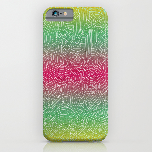rainbow-swirl-mobile-case