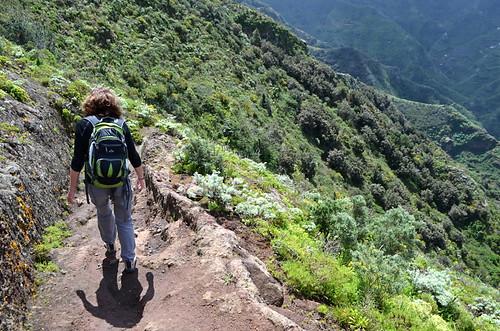 Walking in the Anaga Mountains