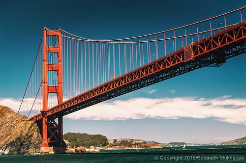 Golden Gate Bridge | San Francisco, CA | August, 2014  by Somnath Mukherjee Photoghaphy