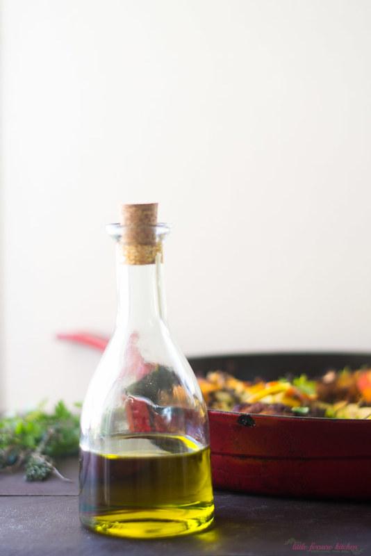 Olive Oil Braised Chicken with Citrus, Fennel and Turmeric via LittleFerraroKitchen.com