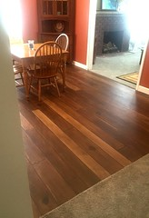 Concrete Wood Kitchen Flooring Morgantown WV