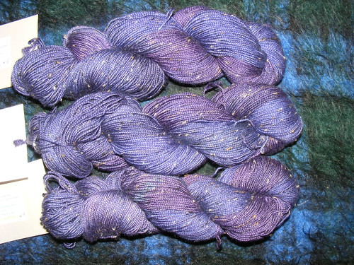 Gothick, donegal nep sock yarn