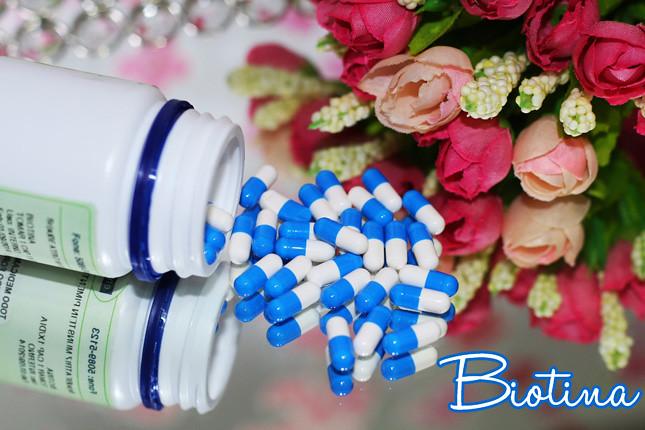 biotina e seus efeitos no cabelo