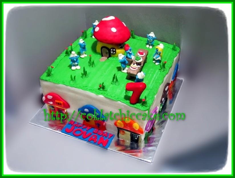 Cake Smurf