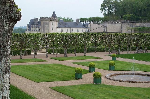 castillo de villandry - viaje a los castillos de loira