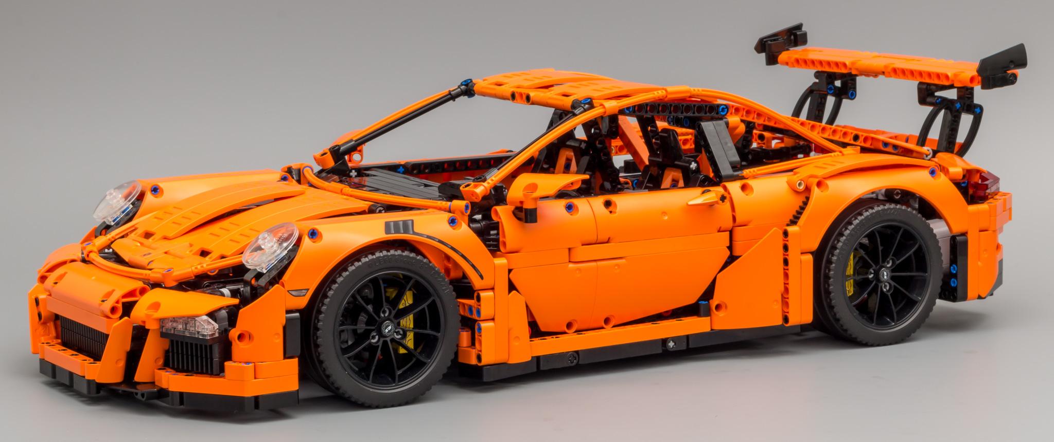 review 42056 porsche 911 gt3 rs lego technic. Black Bedroom Furniture Sets. Home Design Ideas