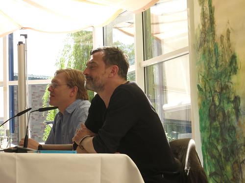Jón Gnarr und Thomas Sarbacher