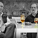Cerveza vs. Brandy by Franco D´Albao